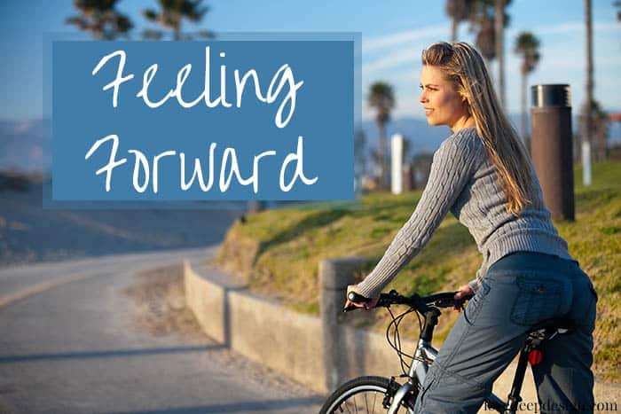 Feeling Forward into Unbounded Joy